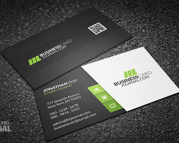 30 amazing free business card psd templates reheart