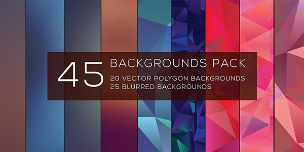 Freebie 45 Backgrounds Pack