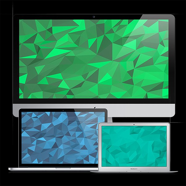 20 Geometric Backgrounds