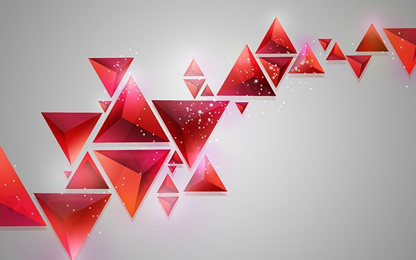 How To Create Contemporary Abstract Background Of Geometric Shapes In Adobe Photoshop CS6