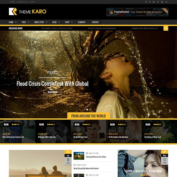 Karo – Free WordPress Theme