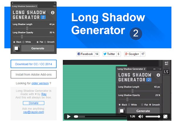 Long Shadow Generator 2