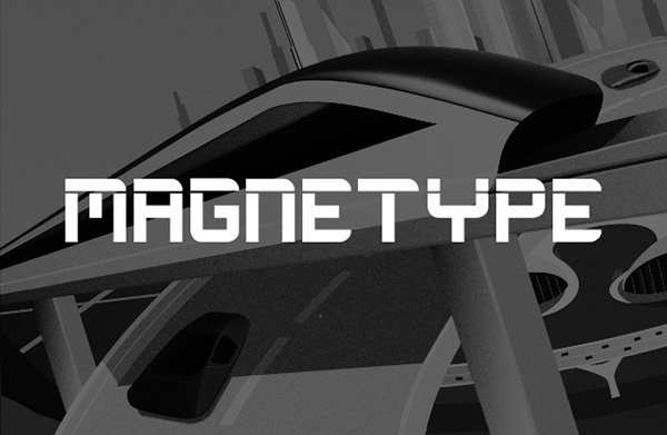 Magnetype - Free Font