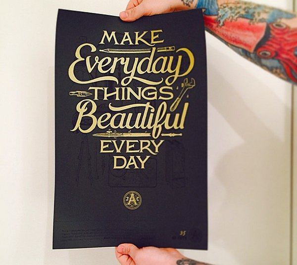 Make Everyday Things Beautiful Every Day