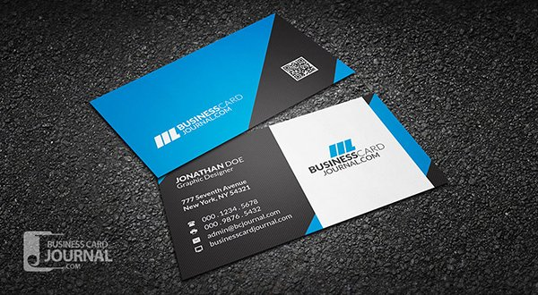 30 amazing free business card psd templates modern professional business card template friedricerecipe Gallery
