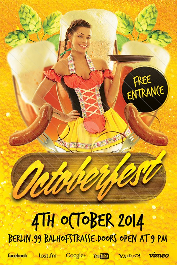 Octoberfest Flyer Template