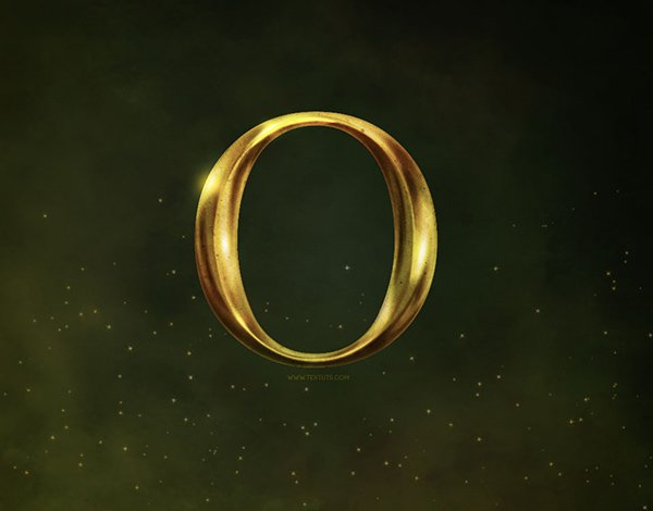 'Oz The Great And Powerful' Inspired Text Effect