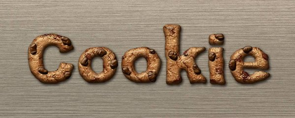 Quick Tip: Create A Cookie Text Effect In Photoshop