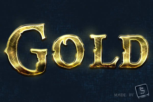 Quick Tip: Create A Shiny, Gold, Old World Text Effect In Photoshop