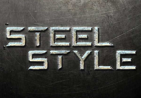 Quick Tip: Create A Steel Text Effect In Photoshop