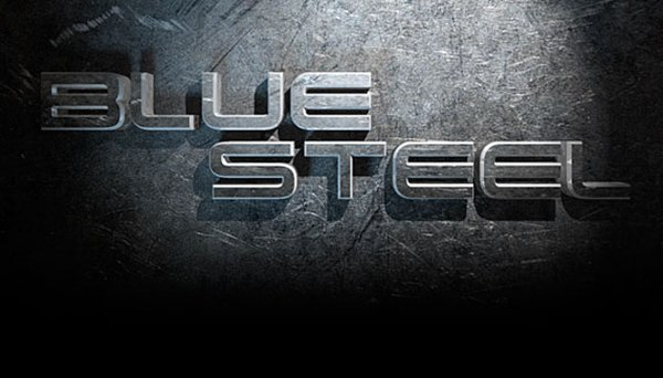 Real Steel Text Effect