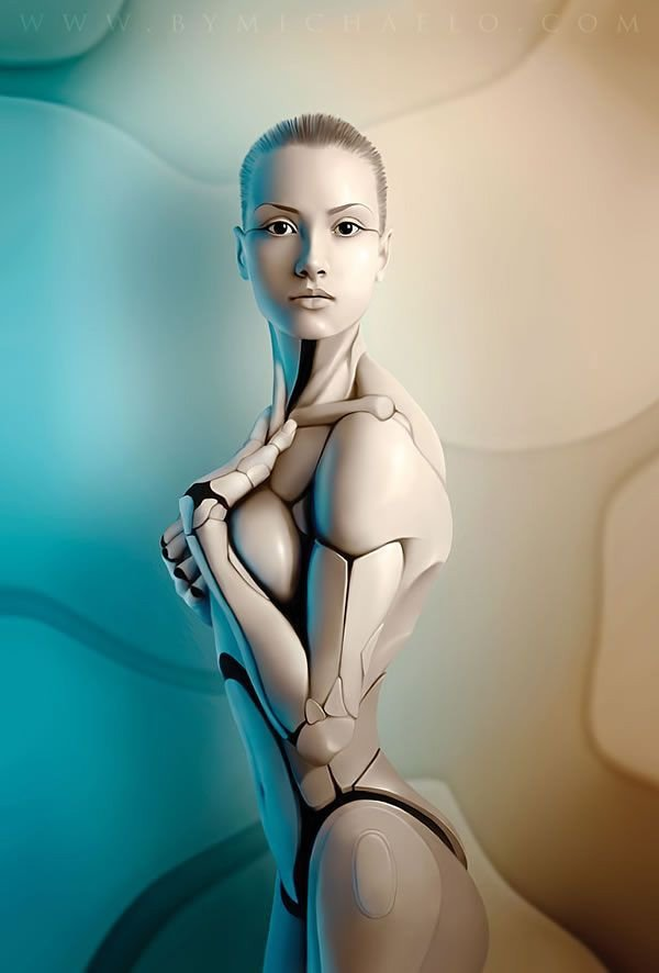 Robotic Lady