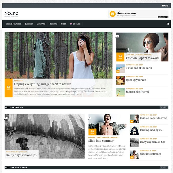 Scene - Magazine Theme for WordPress