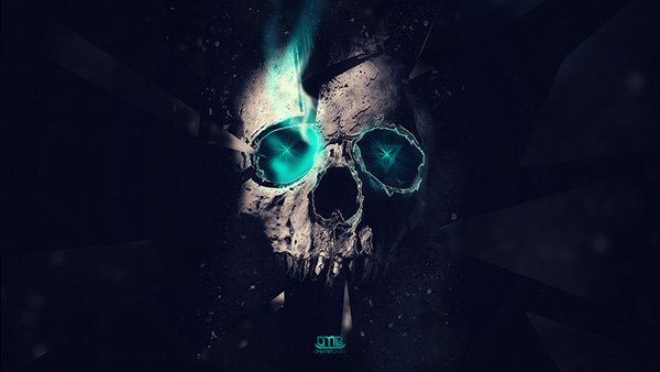 Skull Manipulation Wallpaper