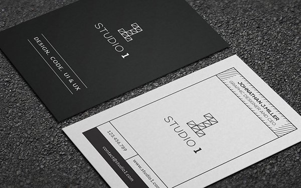 Studio1 Business Card