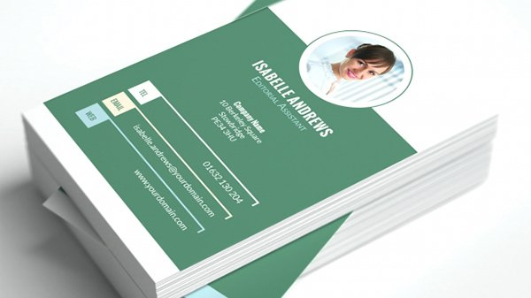 Tertiary Business Card Template Vol 1