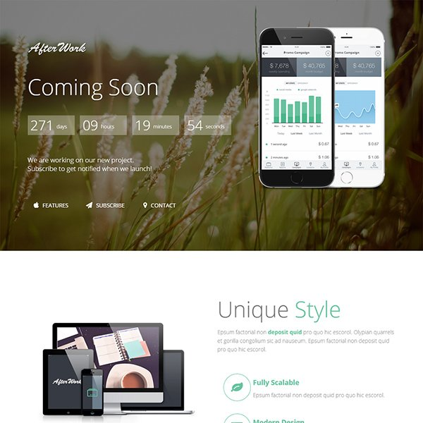 Free responsive coming soon page template 28 images graphx free responsive coming soon page template 21 free coming soon construction html web templates pronofoot35fo Image collections