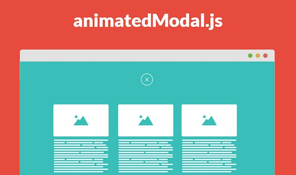 animatedModal.js – jQuery Plugin for Fullscreen Modal