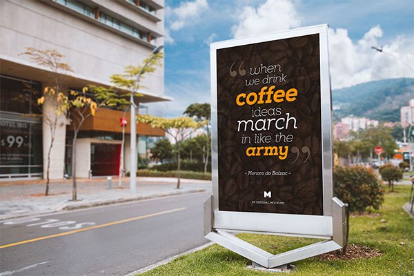 Free Billboard Outdoor Advertising PSD
