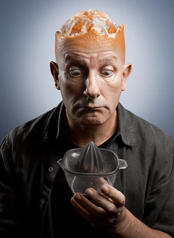 Brain Head Orange