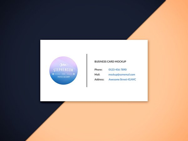 Business Card Mockup Vol.6