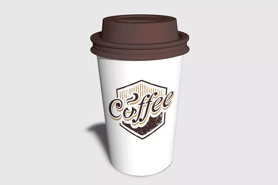 Free Photo-Realistic Coffee Cup Mockup