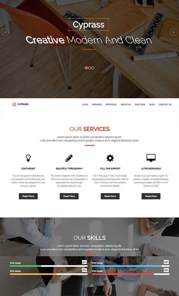 Cyprass - Business Template