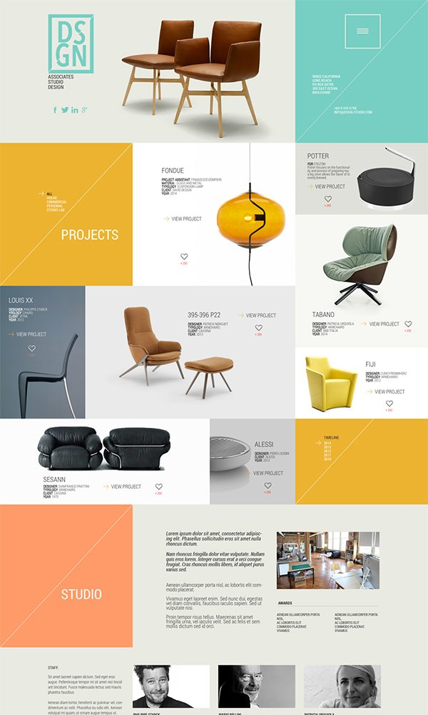 DSGN - Free .PSD Web Template