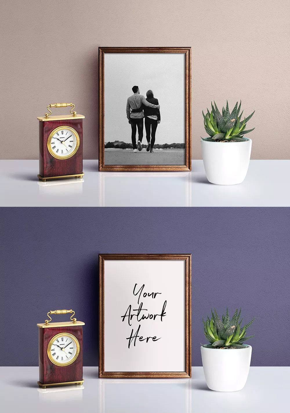 Picture Frame - Free PSD Mockup