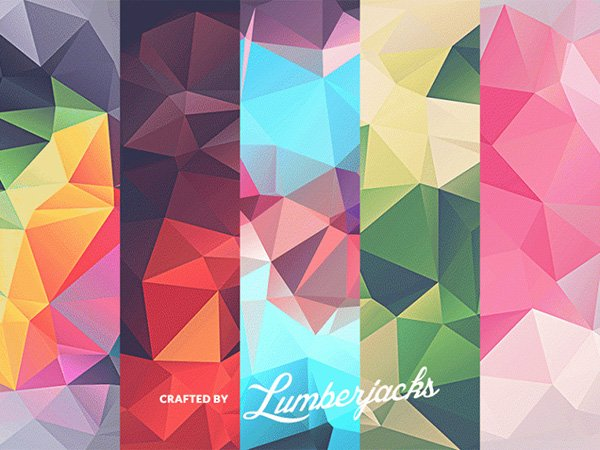 FREE 10 Low-Poly Polygonal Textures