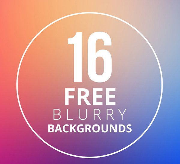 Free Backgrounds: 27+ Amazing Free Blurred Background Packs