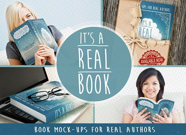 Free Photoshop Book Mock-Ups