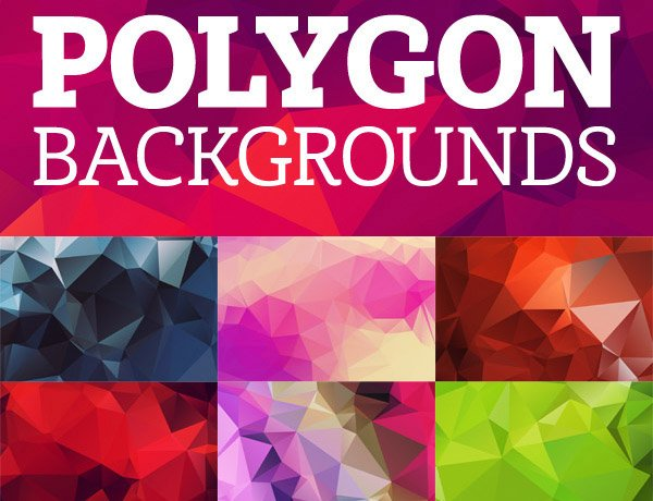 Free Backgrounds: 28+ Wonderful Free Polygon Background Packs