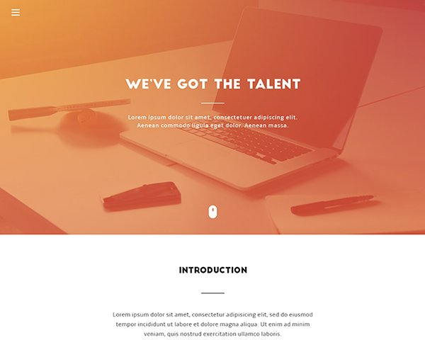 200+ Amazing Free PSD Website Templates
