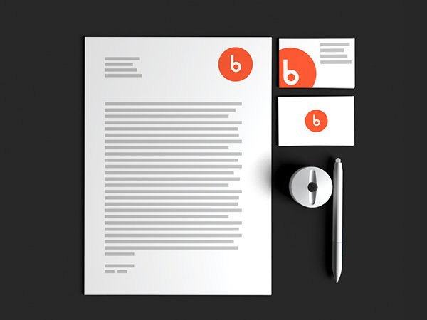 Free Stationery Mock-up For Designers or Illustrators