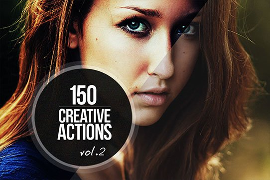 150 Amazing Photoshop Actions from Inventicons - only $19!