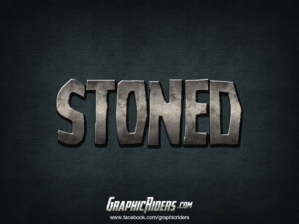 Layer style – Stoned