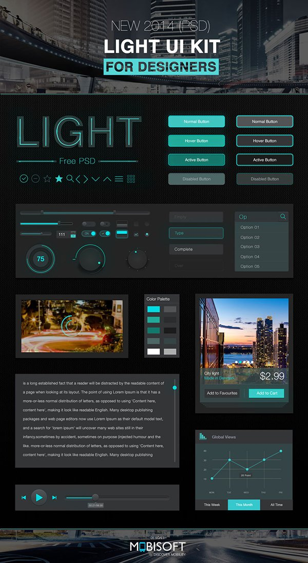 Light UI for Designers