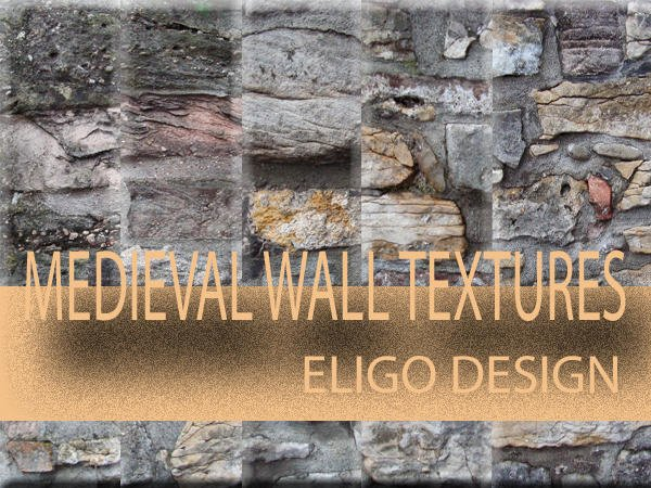 5 Medieval Wall Textures