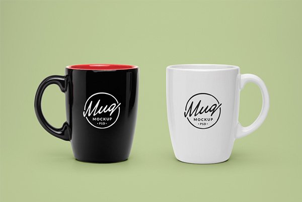 Mug #2 - Free PSD Mock-Up Template