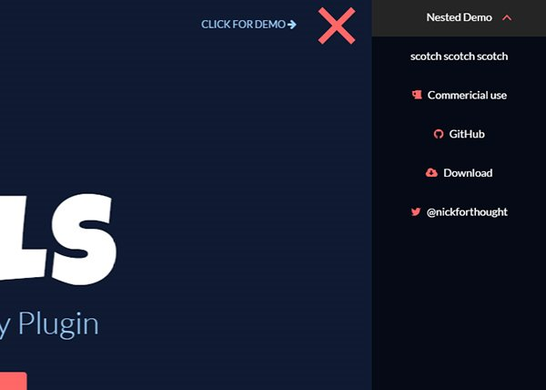 34 Free jQuery CSS3 Navigation Menu Plugins/Tutorials