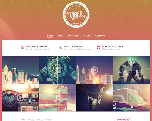 40+ Premium WordPress Portfolio Themes