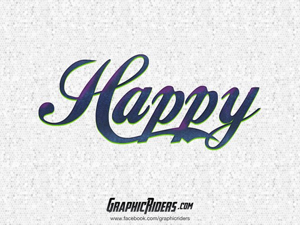Retro Style – Happy