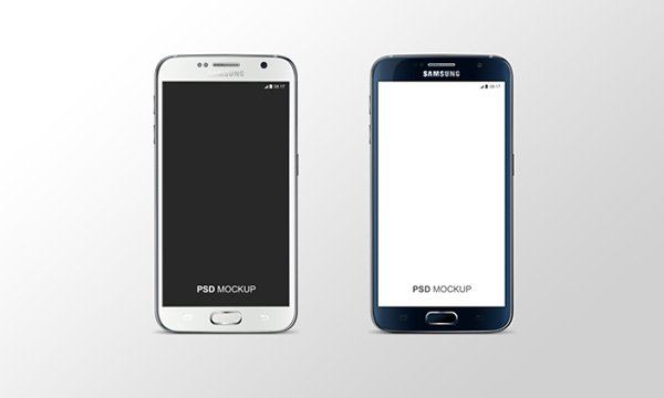 Samsung Galaxy S6 PSD Mock-Up