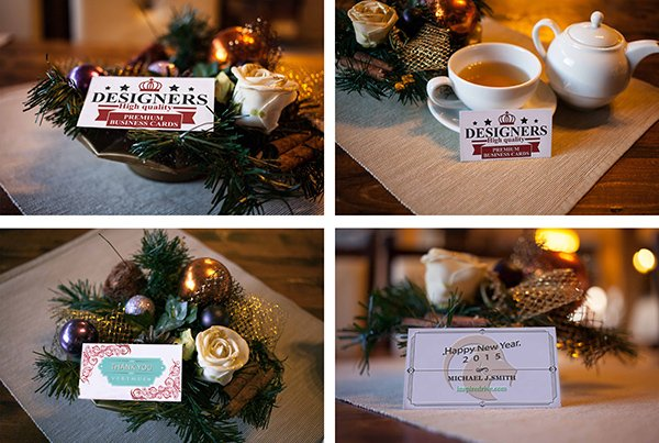 Special Event Business Card Mockup vol 2