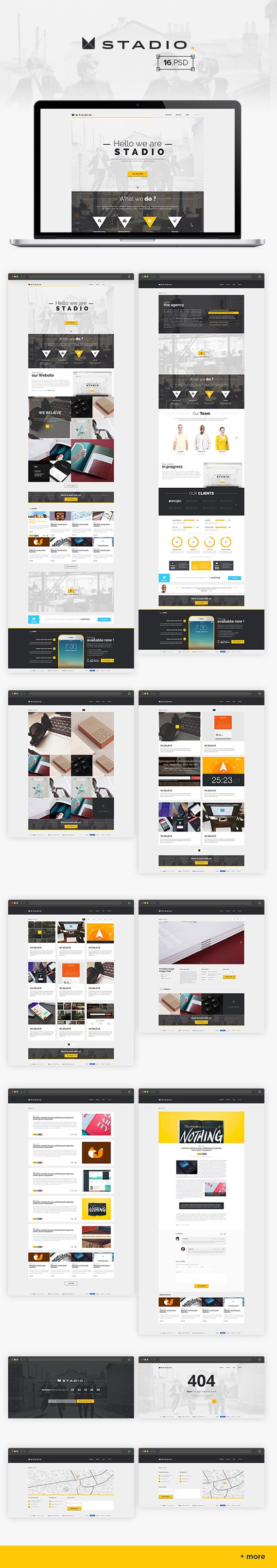 Stadio – Multipurpose Creative Template