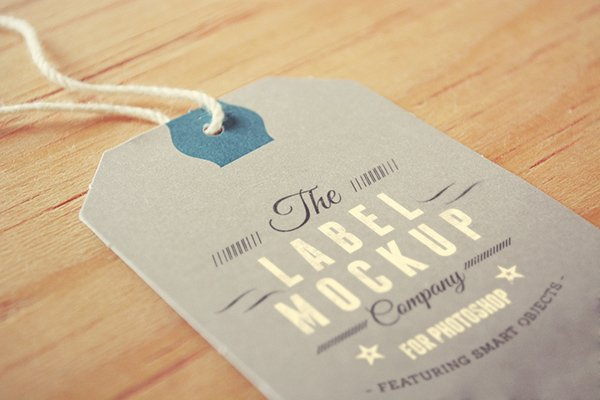 Tags / Labels: Logo Mockup