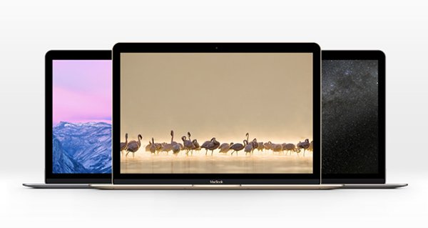 The New MacBook Psd Mockup Template