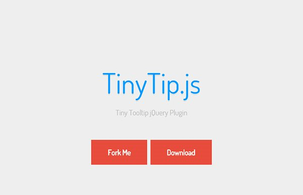 TinyTip – Tiny Tooltip jQuery Plugin