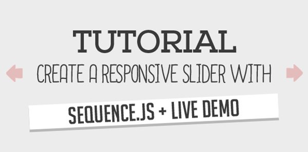 Create a Responsive Slider with Sequence.js